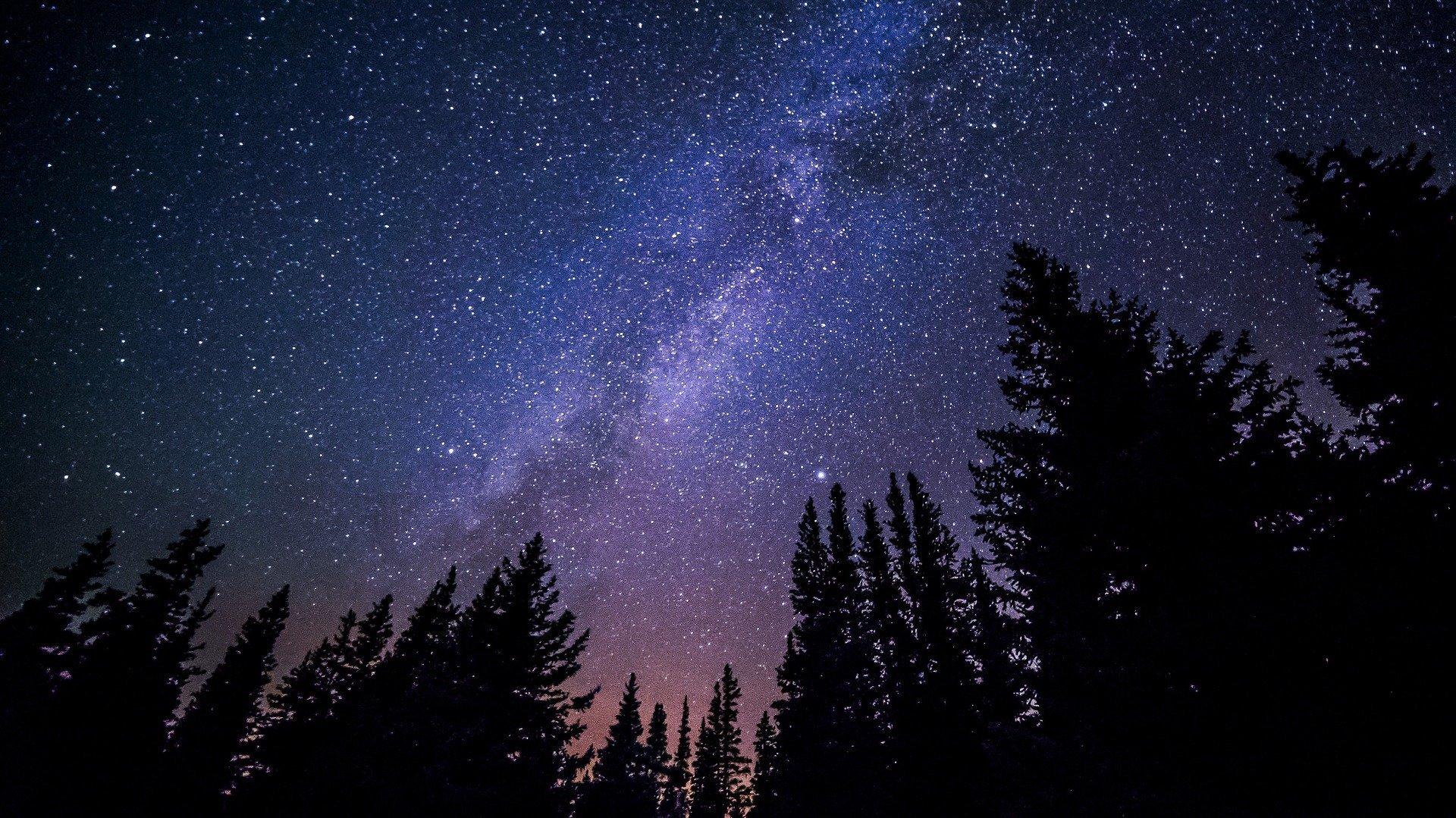 Galaxy At Night - Photography Print
