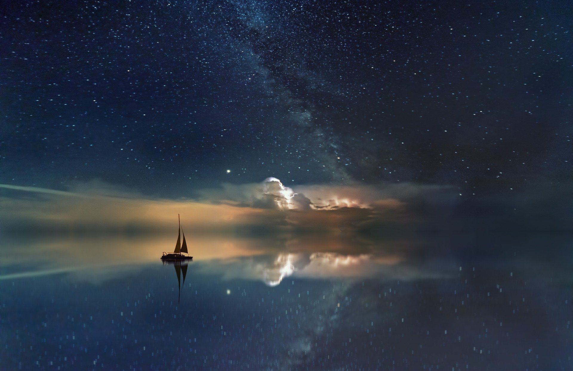 Ocean Starry Sky – Photography Print